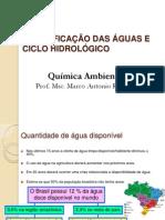 Aula 2 - Classificacao Da Agua e Ciclo Hidrologico