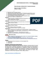 Curso Publicidad Aplicada a Proyectos y Causas Sociales Feb-mar 2014