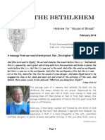 February Bethlehem Newsletter 2014