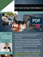 5.3 Escenario Socioeconómico