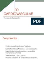 Aparato Cardiovascular Exploracion