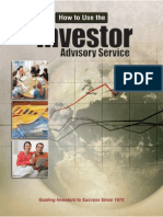"""How to Use the """"Investor Advisory Service"""" to Find Great Stocks & Build a Portfolio"""