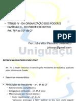Aula 4 - Direito Constitucional II - Poder Executivo