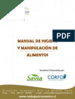 Manual de Higiene y Manipulacion de Alimentos. Nodo Gastronomico
