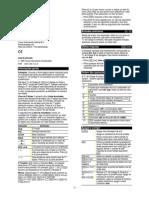 TI-40 College II Quick Reference Guide (Portugues)
