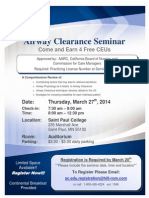 FREE Airway Clearance CEUs