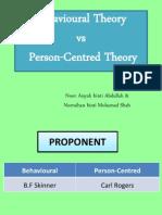 Tutorial 4-Edu3107- Behavioral & Person Centered