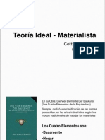 Teoría Ideal-Materialista Gottfried Semper