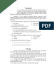 Descriptive text worksheet