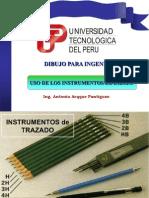 Uso de Los Instrumentos de Dibujo