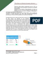 Trabajo 9 Origen y Uso de la Fibra Óptica en la fabricacion de aparatos electronicos