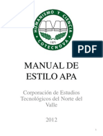 Manual de Estilo Apa-2012