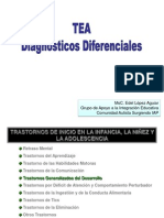1- Diagnosticos Diferenciales en TEA