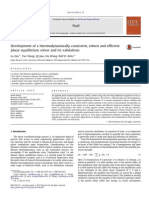 Development of a thermodynamically consistent, robust and efficientphase equilibrium solver and its validations