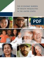 Burden of Health Disparities Final Report