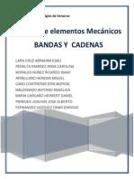 Bandas y Cadenas