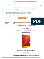 Descargar Adobe Acrobat XI Pro