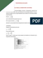 Tercera Semana de Clase - Conductividad Termica Vectorial