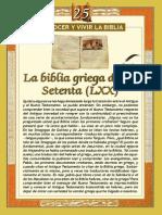La Biblia Griega 70