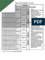 7-2 Comisiones de Aseo 2014