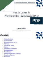 Guia de Leitura de Procedimentos Operacionais