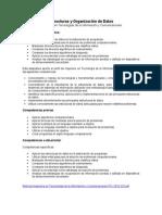Estructuras y Organización de Datos Ver 2.0