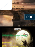 Dakwah Rasullallah SAW Periode MEKAH sEMESTER 1