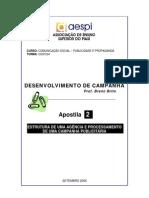 Des Campanha APOSTILA02 Estrutura Agencia