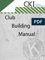 Club Building Manual 2013