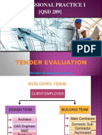 Chapter 8 - Evaluation of Tender