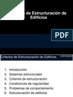 Criterios Estructuración 2012 1
