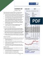 Veritas Securities in It Itation of Coverage 2