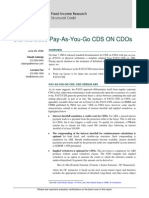 CDS on CDO