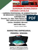 Catolica 1ra. Marketing Empresarial