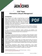 COA Information Lifecycle Management v1.0
