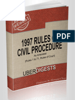 1997 Rules of Civil Procedure - Howard Chan