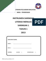 Instrumen Literasi Menulis Saringan 1_tahun 1 2013 (2)