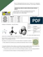 Como+elaborar++modelos+tridimensionales+del+átomo+de+carbono,+4+hojas.