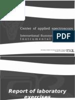 Report of Laboratory Exercises