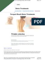 Cellulite Treatment Newport Beach