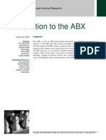Intro to ABX