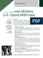Lehman ARM Index