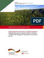 Manual_ordenamiento Territorial y Cambio Climatico