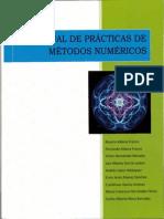 Manual de Practicas de Metodos Numericos