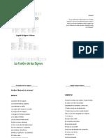 Antología Poética La Fusión de los Signos