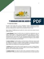 7 Sencillos Usos Del Aceite de Oliva