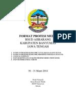 Dody Firmanda 2014 - RSUD Ajibarang Format untuk Profesi Medis