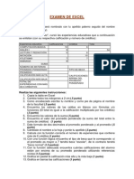 Examen Diagnostico2 de Excel Ago11