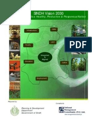 Sindh Vision 2030   Millennium Development Goals   Pakistan