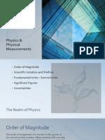 physics n physical measurements rev